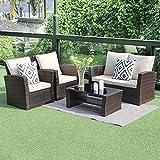 Wisteria Lane Outdoor Patio Furniture Set Sectional Sofa