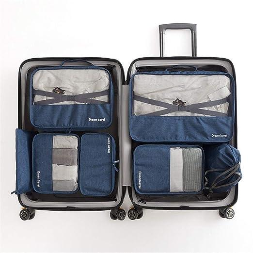 Bolsa de viaje Conjunto de 7 piezas Cubos de embalaje ...
