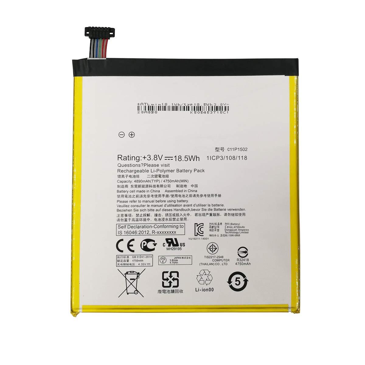 Bateria C11P1502 ASUS ZENPAD 10 Z300C Z300CL Z300CG 10.1