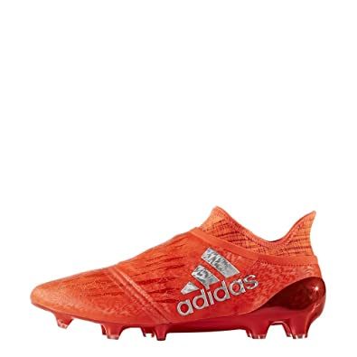 new concept d59ec 2b473 adidas X 16+ Purechaos FG, Chaussures de Football Homme, Rouge  neonrot Orange