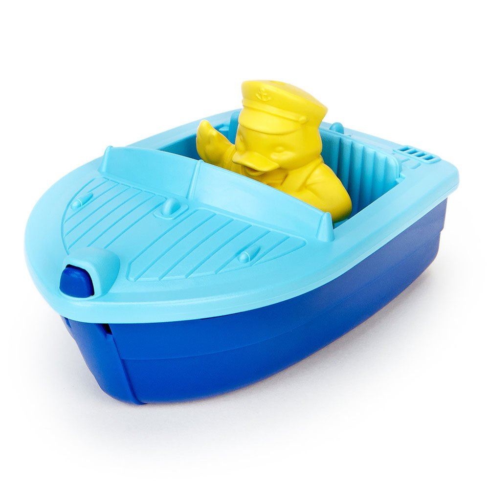 Green Toys Launch Boat, Blue