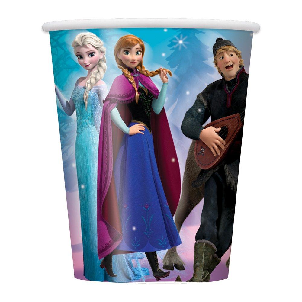 9oz Disney Frozen Party Cups, 8ct Unique Industries Inc. 59886