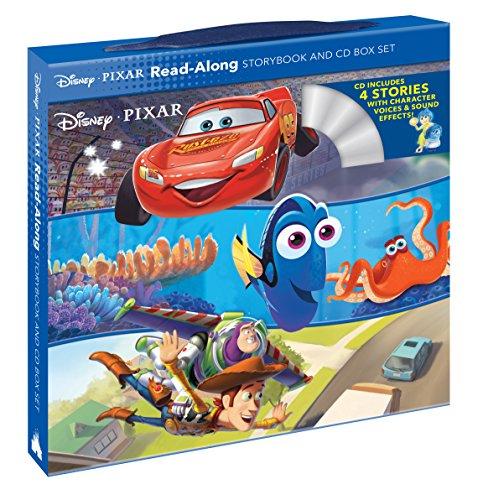 Disney*Pixar Read-Along Storybook and CD Box Set                         (Paperback)