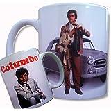 The Cool Graphic Columbo Mug, Peter Falk, Homicide Detective, Peugeot 403, Cult TV