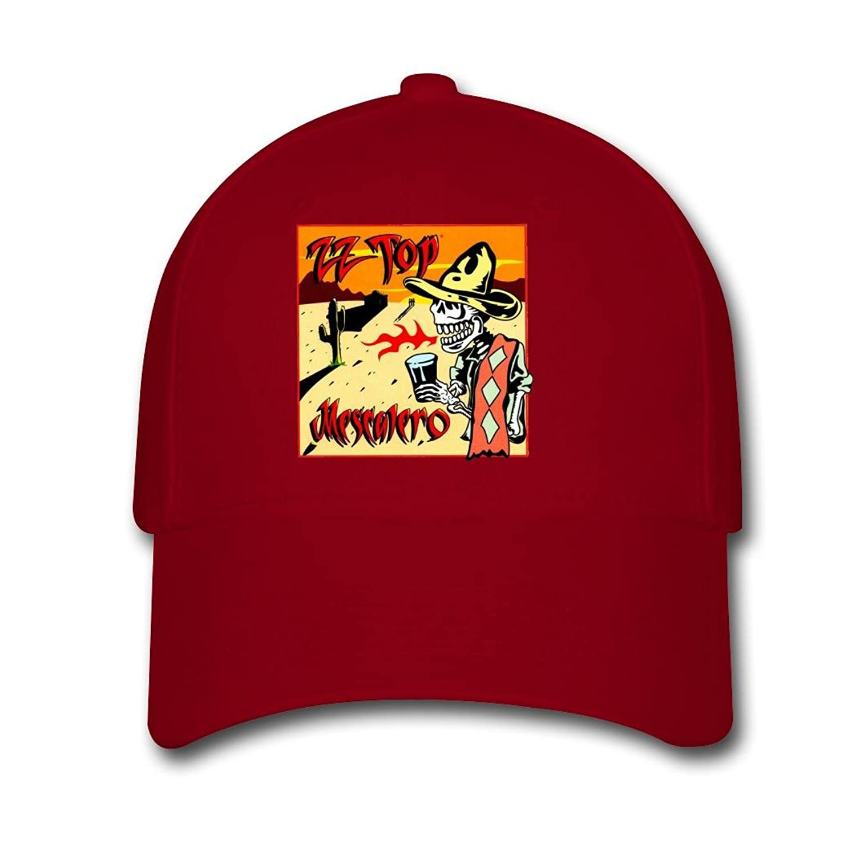 Woman Men Cotton ZZ Top Skull Wear Clothes Adjustable hats Baseball caps