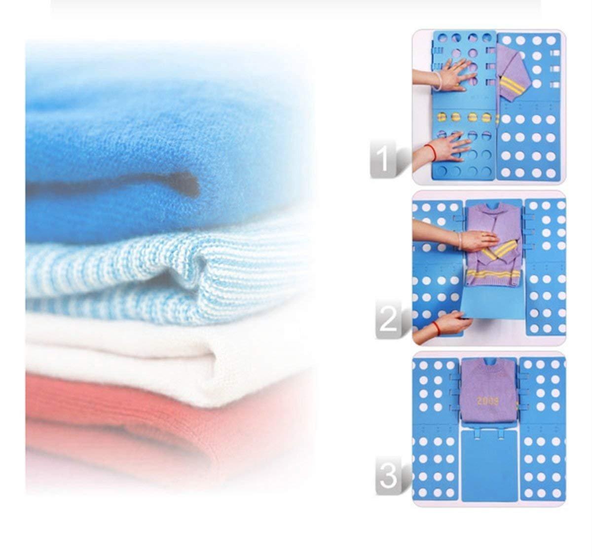 Pizarra plegable para doblar ropa (ajustable, para vestido, pantalones, toallas, camiseta), de Ecbrt: Amazon.es: Hogar