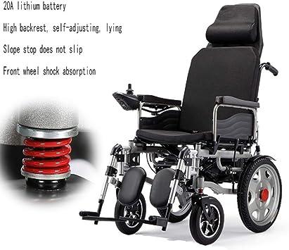 Cmn Silla de ruedasScooter de exteriores para adultos Silla