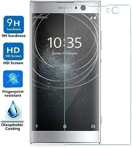 REY Protector de Pantalla para Sony Xperia XA2 / Sony Xperia XA 2, Cristal Vidrio Templado Premium: Amazon.es: Electrónica