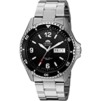 Orient Mako II Analog Automatic Hand-Winding Silver Men's Watch