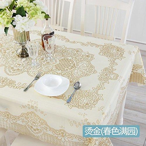Unión Mantel Mantel de Pvc mesa ovalada de plástico de Tela,E ...
