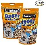 VitaKraft Dog Drops with Yogurt Treat, Dog Snacks, 2-Pack 8.8 oz Review