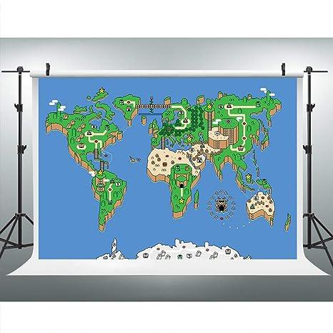 Super Mario Brothers World Map: Amazon.es: Electrónica