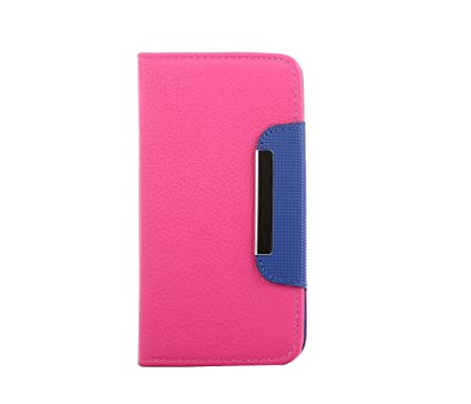 DNG Leather Flip Case Cover Pouch Table Talk Wallet For
