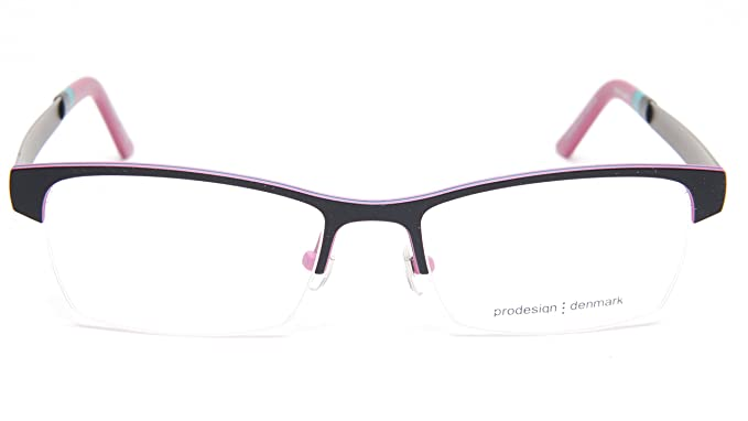 Amazon.com: NEW PRODESIGN DENMARK 1287 c.6031 BLACK EYEGLASSES FRAME ...
