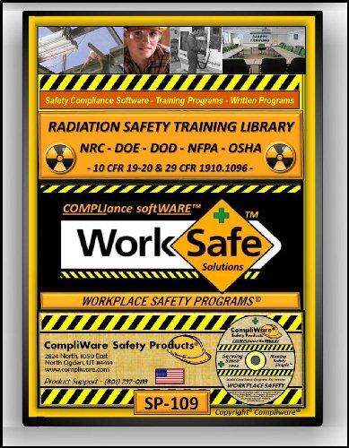 SP-109 - RADIATION SAFETY TRAINING LIBRARY - NRC - 10 CFR - OSHA - 29 CFR 1910 - UPC - 639737374964