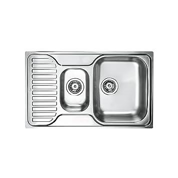 Teka de acero inoxidable fregadero de cocina fregadero ...