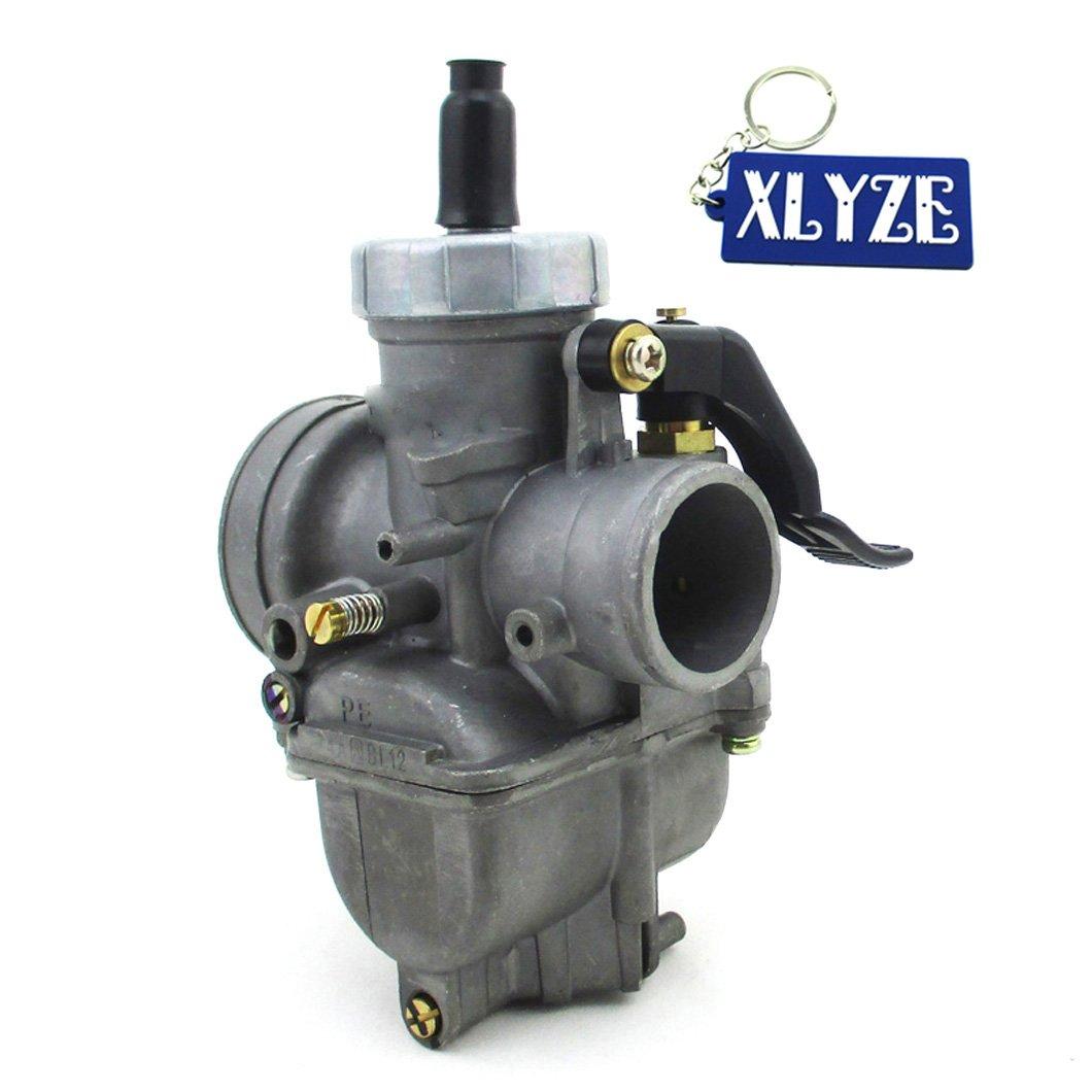 xlyze 26mm carburateur PE26Carb pour lifan chinois YX 125cc 140cc 150cc Moteur Pit Dirt Bike ATV Quad pitster