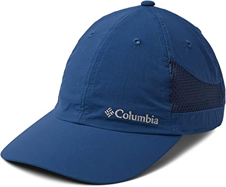 Columbia Tech Shade Hat Gorra, Unisex Adulto, Azul (Carbon), One ...