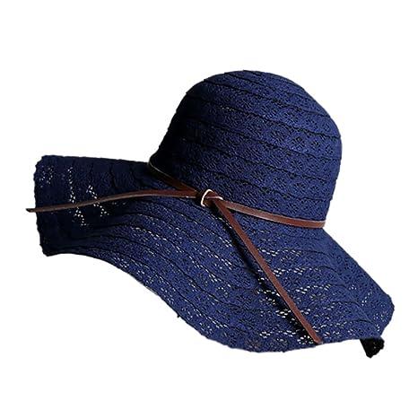 Aesy Cappello da Spiaggia di Pizzo Donna 70cda85fb236