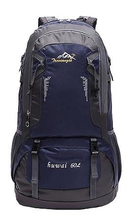 08fa0b762 tanxianzhe resistente al agua 60L deportes al aire libre Mountaineer  Senderismo Trekking Mochila Camping mochila bolsa