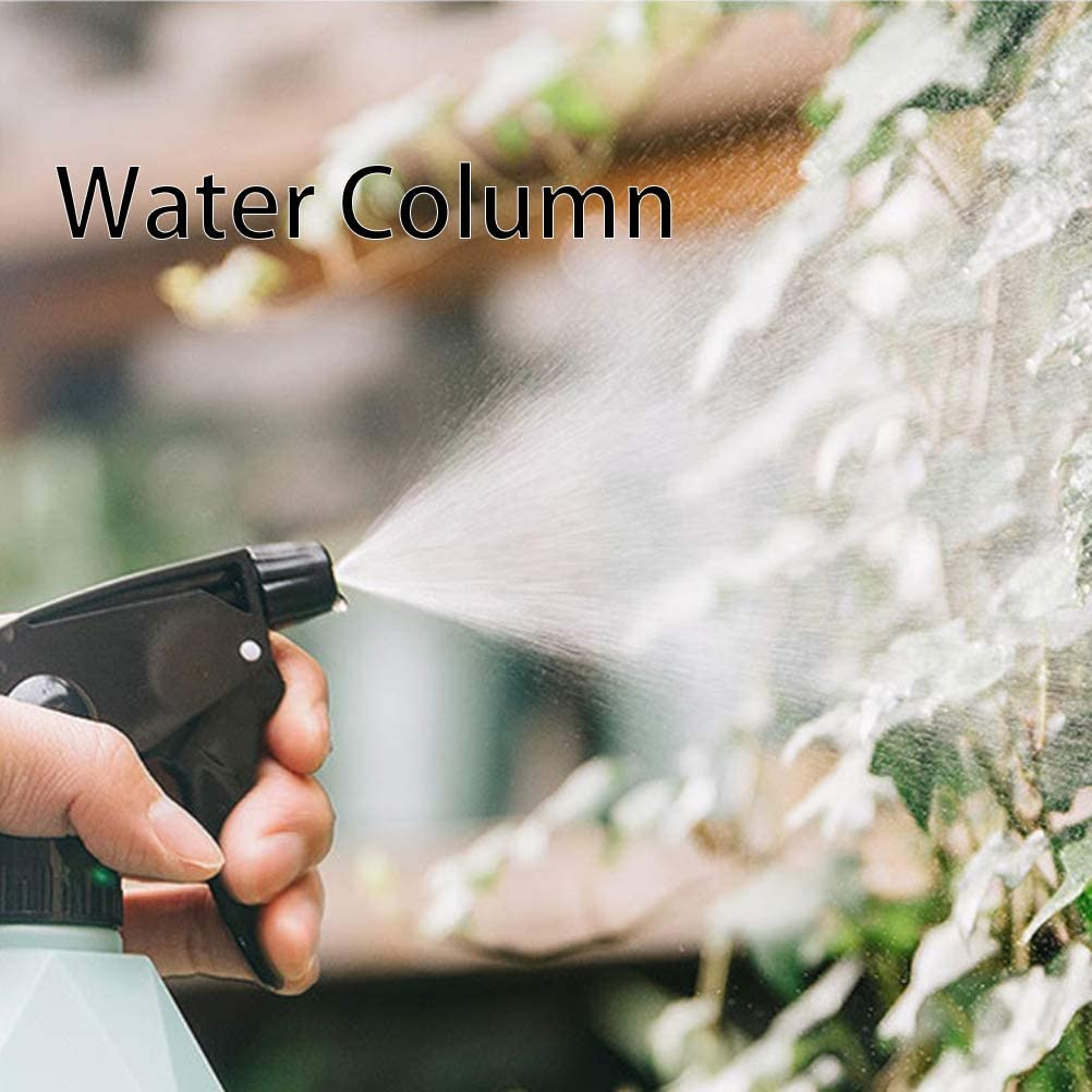 Diyiming 600ml Empty Spray Bottle Plastic Watering Flowers Water Spray Plants Sprayers DIY Home Garden Supplies Green