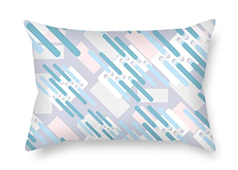 Amazoncom Colorful Geometry Cushion Covers Best For Lounge Bench