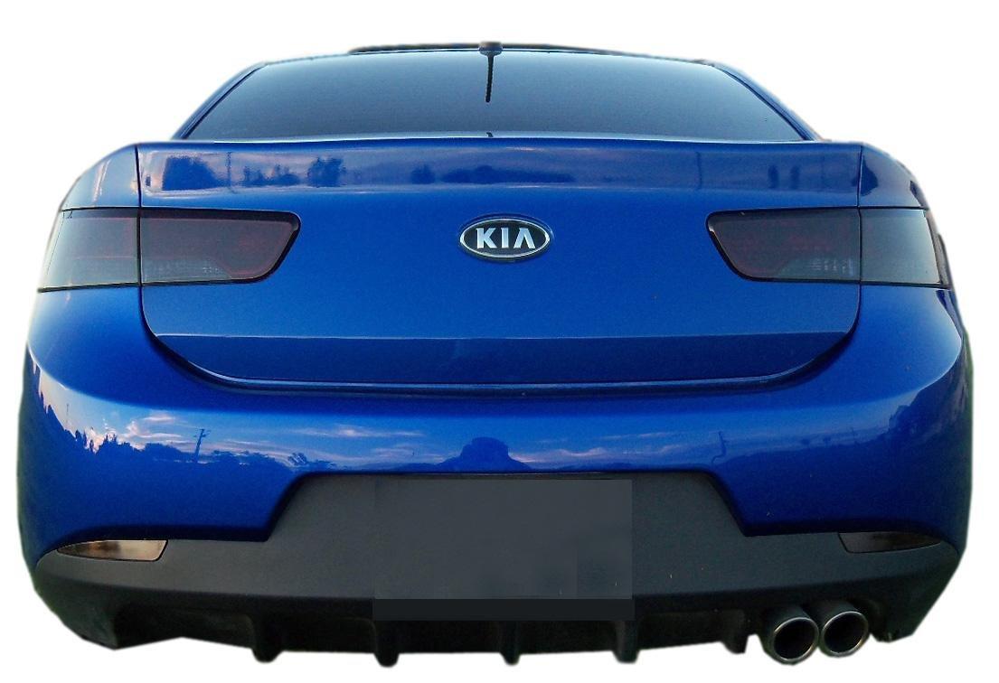 Subject 9 Fits Forte Koup Pre Cut Vinyl Overlay Kia Headlight Complete And Taillight Plus Tint 2010 2011 2012 2013 Dark Automotive