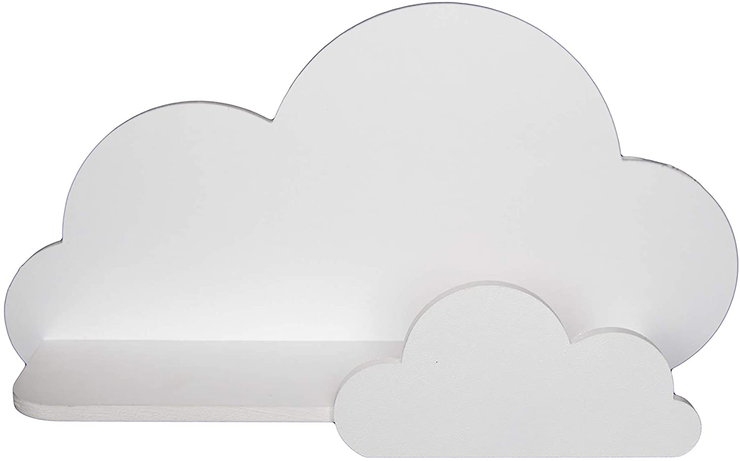 BugyBagy Trend Lab Cloud Wall Shelf (White)