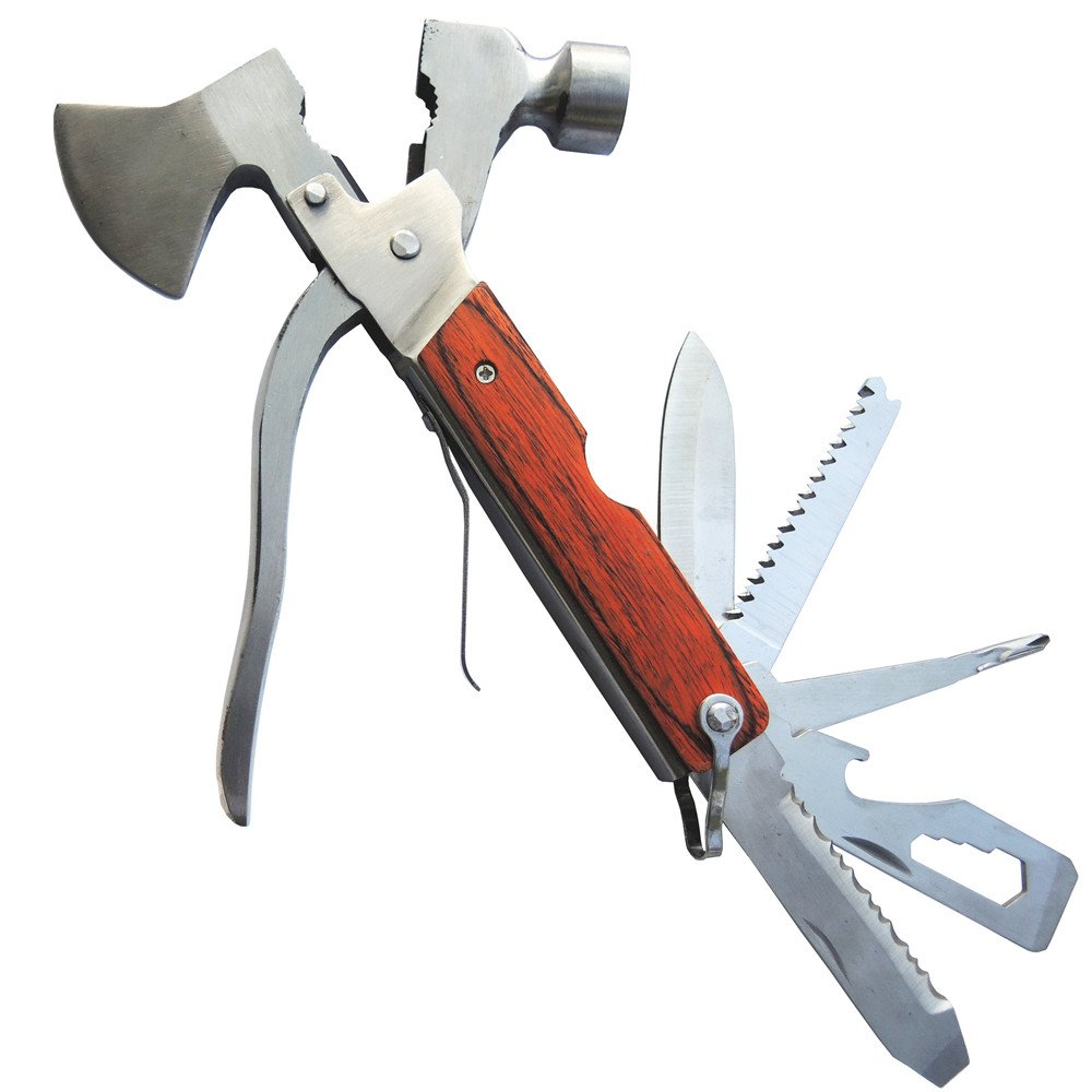 PEYOND Camping Axe Hammer Multitool Camping Hammer Household Outdoor Camping