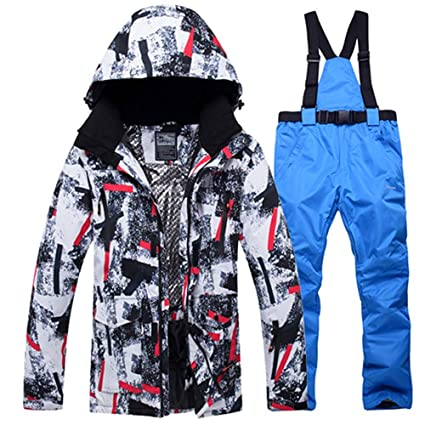 fb7b7ce3e0 ZLULU Ski Suits Winter Ski Suit Men Snow Skiing Male Clothes Set Outdoor  Thermal Waterproof Windproof