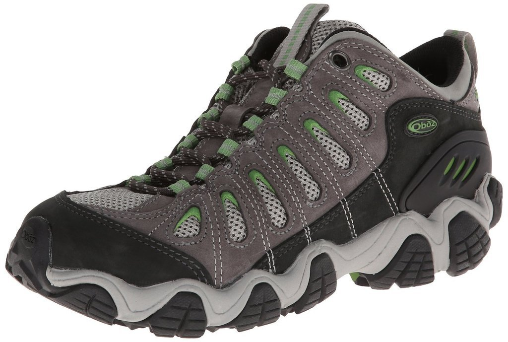 Oboz Women's Sawtooth Low Hiking Shoe,Clover,7.5 M US