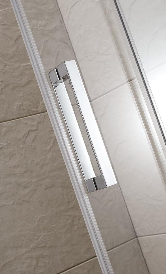 Cabina de ducha Manhattan, 166-170, 6 mm, modelo 2015, magnetizado: Amazon.es: Bricolaje y herramientas