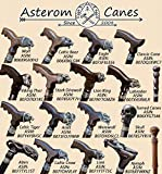 Asterom Exclusive Walking Canes for Men Fashionable Stylish Viking Cane Designer Wooden Men's Canes - Custom Walking Staff