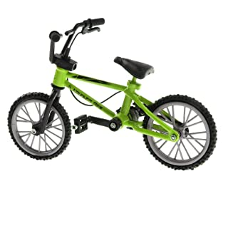 Homyl 1:24 Mountain Finger Bicycle Toy Mini Alloy Road Bike Kids Toy Birthday Gift Green Color