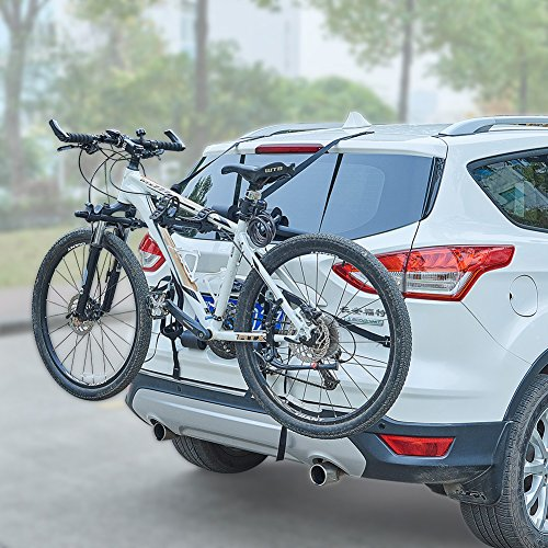 Blueshyhall Car Bicycle Stand SUV Vehicle Trunk Mount Bike Cycling Stand Storage Carrier (Station Wagon Car)