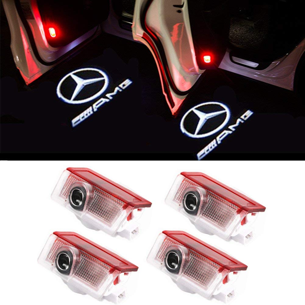 PIXELPRICE 2x CREE LED PROJECTOR CAR DOOR LIGHTS SHADOW PUDDLE COURTESY LASER LOGO