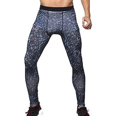 Herren Kompressions Leggings Sporthosen Base Layer Gym Trainingshose Tights Hose