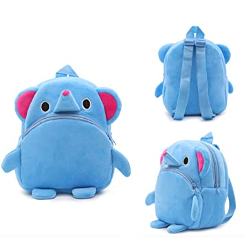 70ba1c18f783 Image Unavailable. Image not available for. Color  Plush Boys and girls Children s  school bags ...