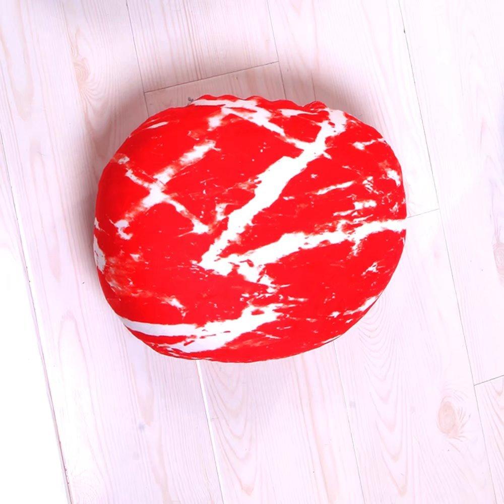 Pillow-MAIKA HOME Cuscino di Pietra coloreato Creativo stuoia del ciottolo Decorazione Cuscino di Scena (Formato  30  30cm)