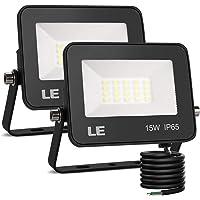 LE Foco LED de 15W, 1500 lúmenes, IP65