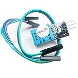 HiLetgo DHT11 温度センサー モジュール湿度センサーモジュール Arduinoと互換 デュポンラインと付属 [並行輸入品]