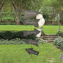 Fun Express Chalkboard Directional Sign