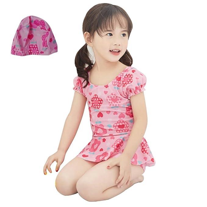 3ab3c00622891 Angel Tiara mini キッズ 女の子 ベビー 水着 ワンピース スカートパンツ プール 海 ビーチ 旅行 スイミング スイム