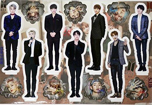 BTS BANGTAN BOYS - STANDING PAPER [MINIATURE -