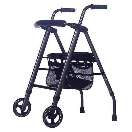 LBSX Andador de Aluminio con Walker, abatibles Movilidad de ...