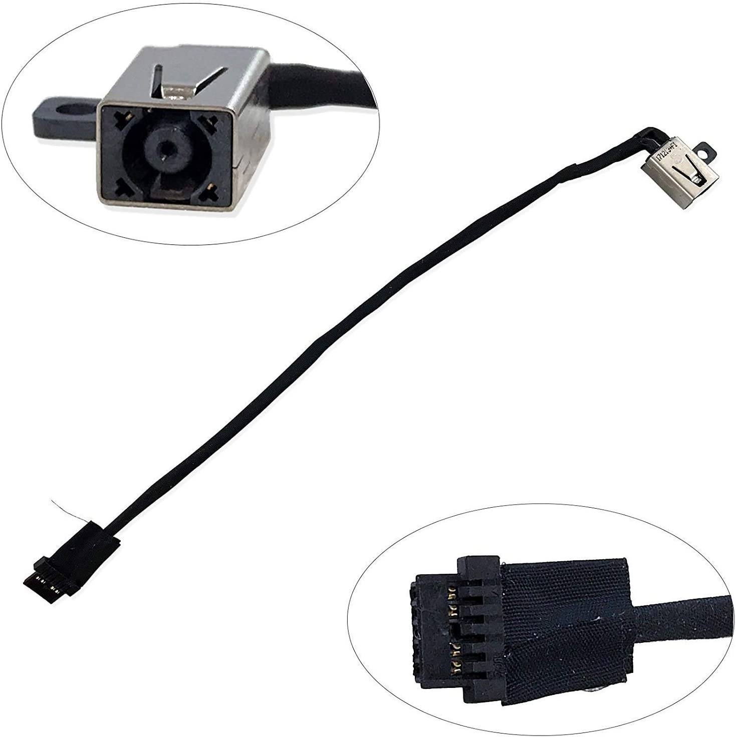 Replacement New DC Power Jack Harness Cable for HP Chromebook 11 G5 EE Series 918169-YD1