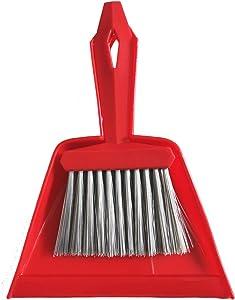 Xifando Mini Housekeeping Cleaning Broom&Dustpan, Mini Brush and Dustpan Set