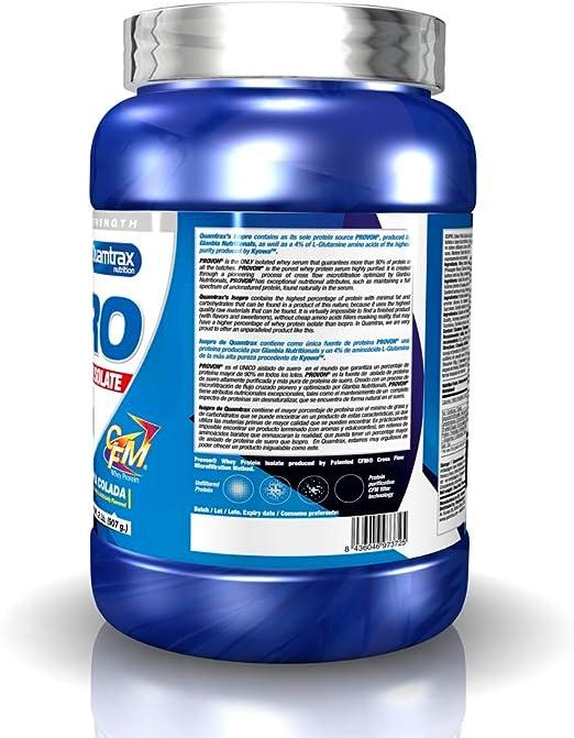 Quamtrax Nutrition QTX0277 - Suplementos de proteínas con aroma de piña, 907 gr