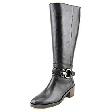 Carolina Calf Leather Boots Black Extended 6.5M