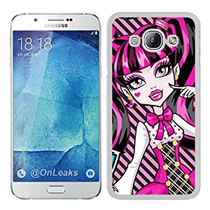monster high 4 White Special Custom Picture Design Samsung Galaxy A8 Phone Case